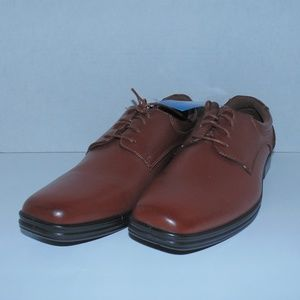 Deer Stags Brown Dress Shoes Size 9.5